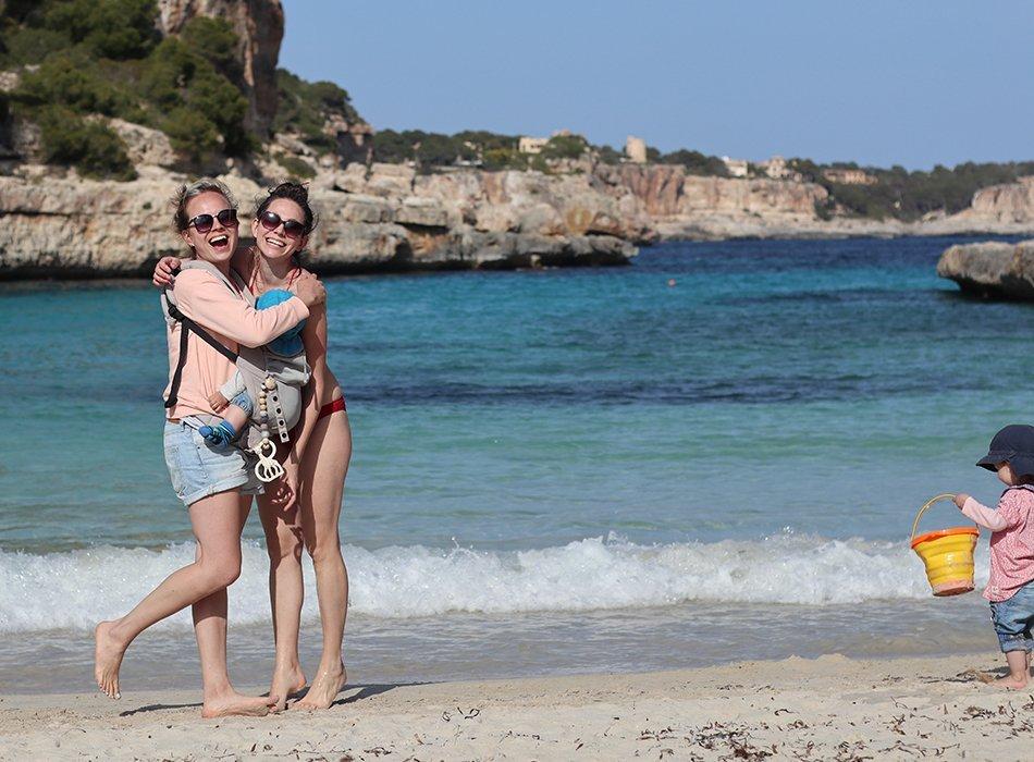 inselleben, cala llombards, reiseblog, strand, blog