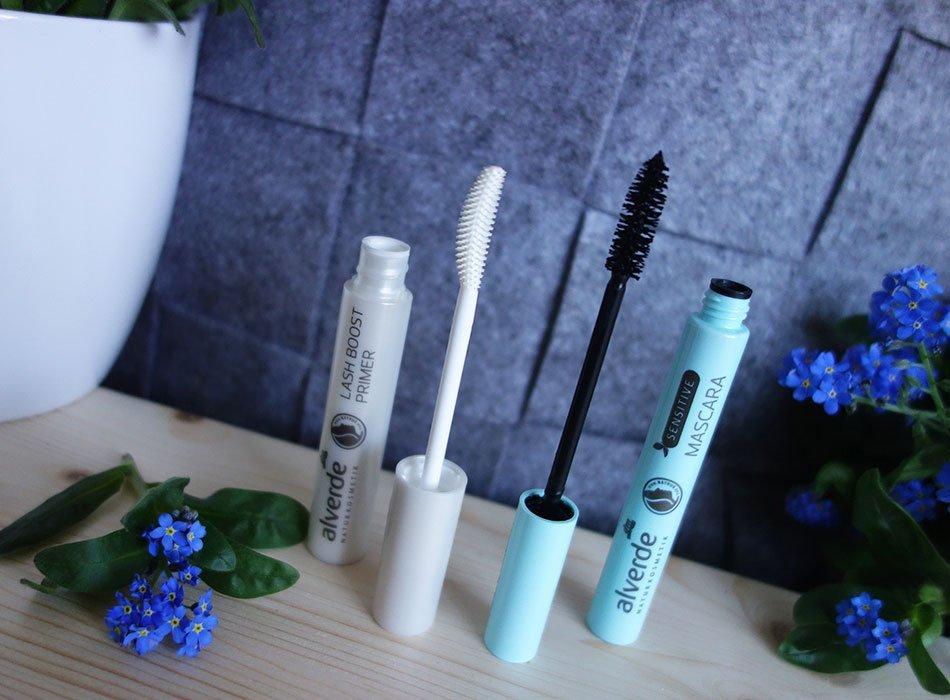 alverde, neuheiten, mascara, sensitive, test, beautyblog