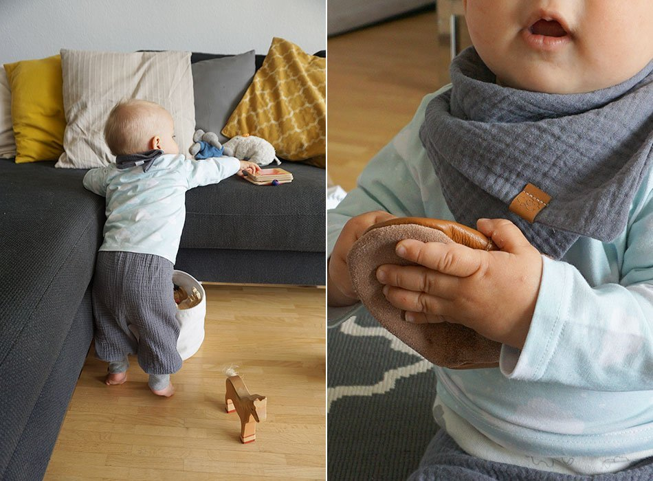 babyupdate, 9 monate, entwicklung, klettern. laufen, stehen, sprache, essen, stillen, zähne, klettern, spielzeug