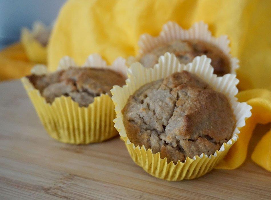 Bananen Buchweizen Muffins Glutenfrei Und Vegan Backen Ekulele