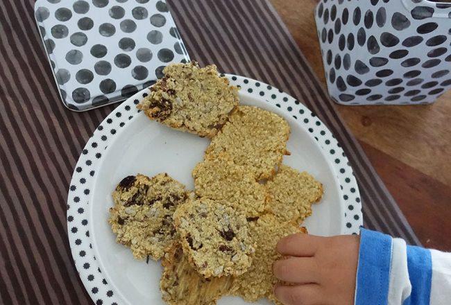 Kekse, Snack, Baby, Kleinkind, Rezept, Hirse, Gesund, Vegan, Cookies