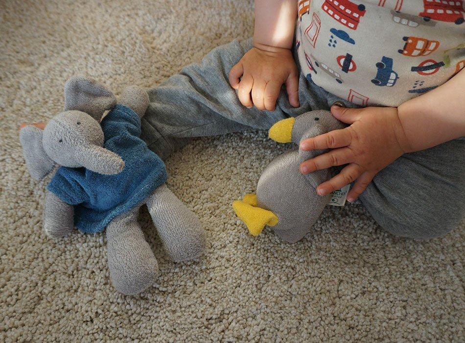 Babyspielzeug, Bio, waldorf, hochwertig, frottee, kuscheltier, weich, schadstofffrei