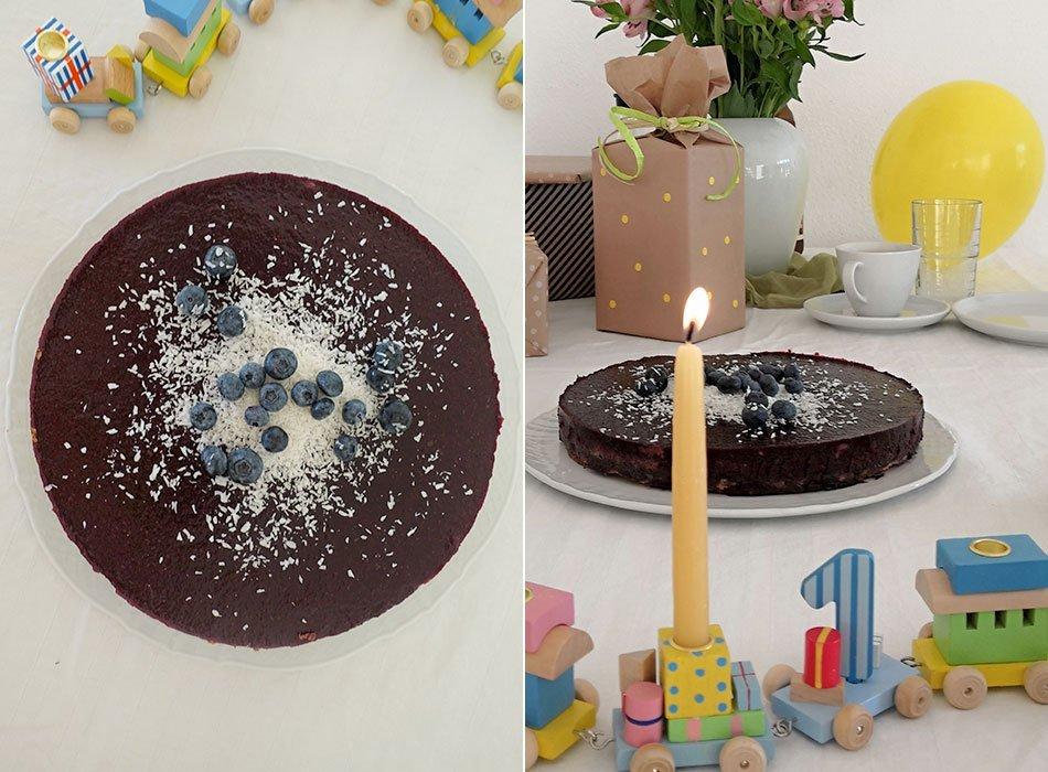 Der Perfekte Kuchen Zum Ersten Geburtstag Vegan Glutenfrei Und