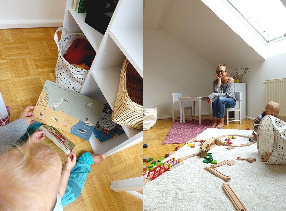 Spielflur, Dach, Schräge, Kinderzimmer, Malbereich, Holzeisenbahn, Tipps