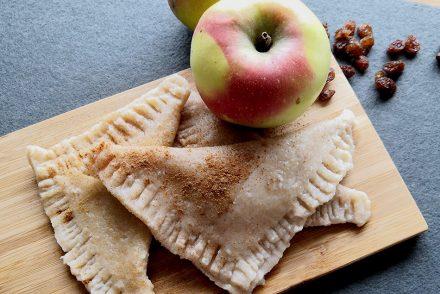 Apfeltaschen, vegetarisch, gesundes Mittagessen, Familienküche, Herbstrezept