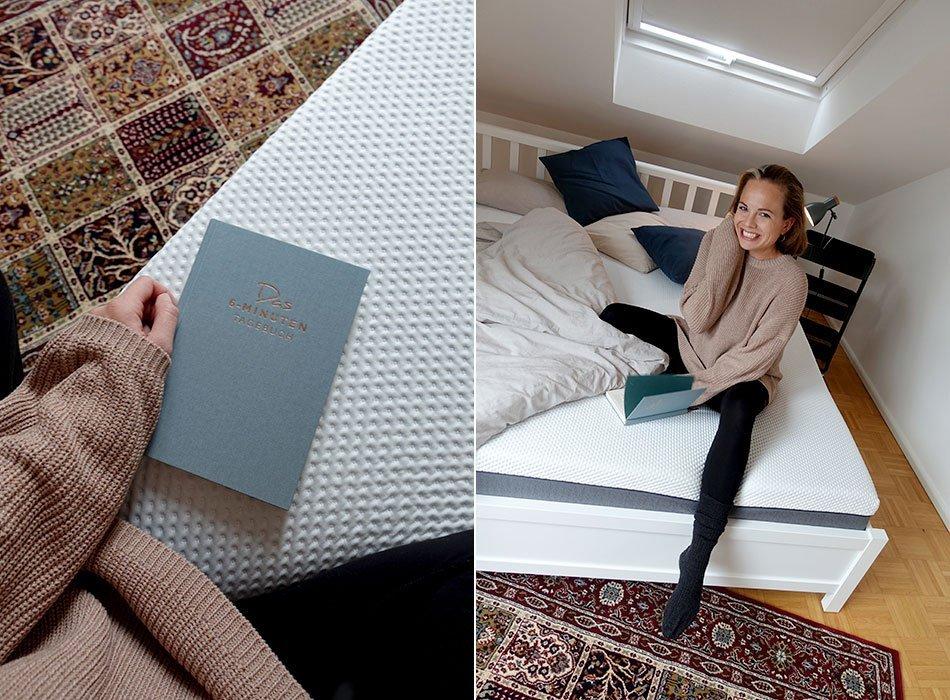 Familienbett, Emma Original, Matratze, 180x200, Probeschlafen, Schlafzimmer, Boko, Orientalischer Teppich, unterm Dach