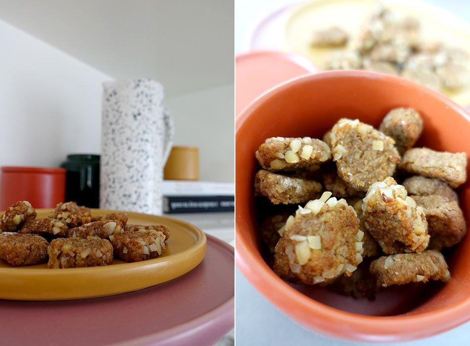 Rezept, vegan, backen, Kekse, Plätzchen, Hirse