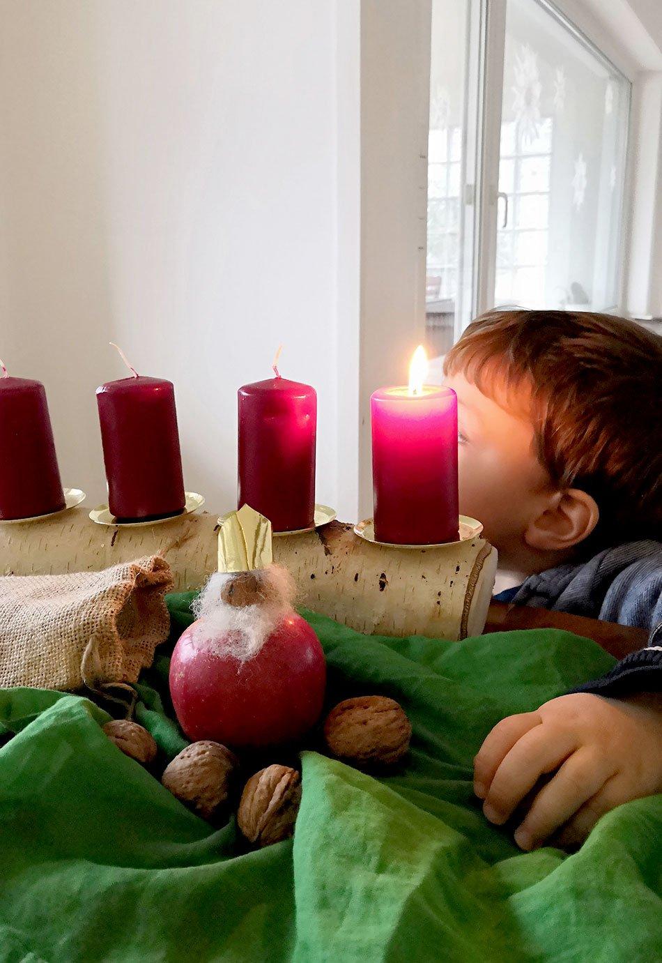 Nikolaus basteln, DIY, Advent, gesund backen, Weihnachten, ohne Schokolade, nachhaltig