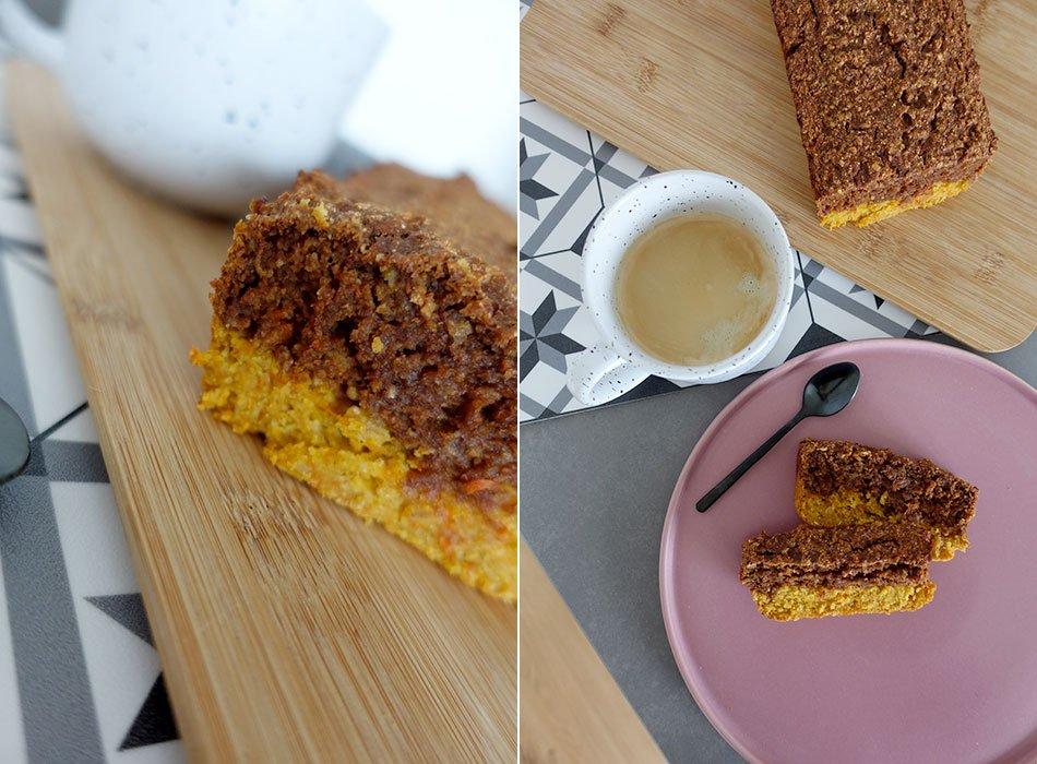 Vegan und gesund backen, Mamorkuchen, Healthy cake