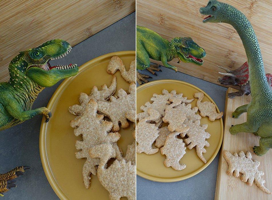 Kekse ohne Zucker, Vegane Kinder, Backen mit Kokosöl