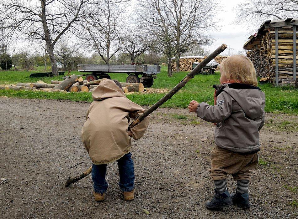Wald, Natur, Kinder, Waldbaden, gute Laune, Energie und Kraft tanken