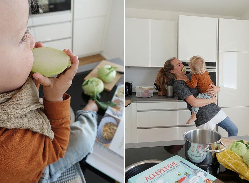 Acker, Gemüse, anbauen, Erntekalender, Kochen mit Kind, AckerKüche, gesunde Ernährung, Nachhaltigkeit, moderne Küche