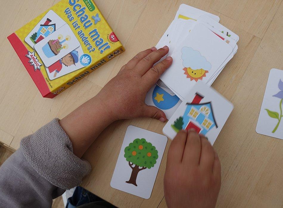 Spielidee für Kinder ab 4 Jahren, AMIGO, Schau hin, Geschnekidee, 4. Geburtstag