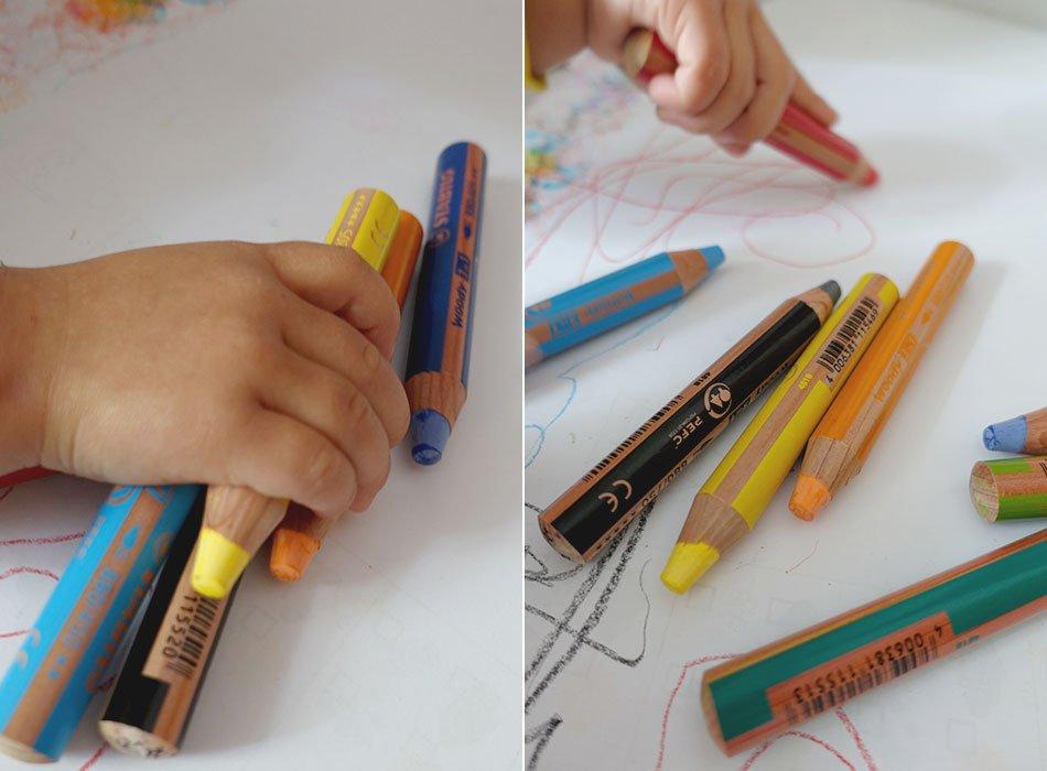 Stabilo, Stift, Fenster, Wasser, Test, Kinder