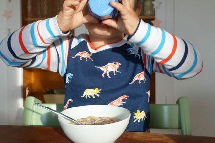 rice Becher, Morgenroutine, Mama, zwei Kinder, Ablauf, Stress am Morgen, vor der Kita
