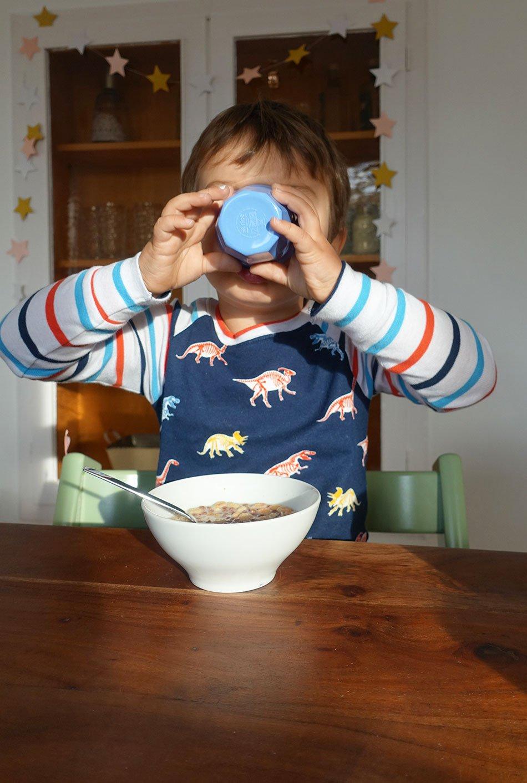 Unsere Morgenroutine Zwei Kinder Zwei Kaffee Und Zwei