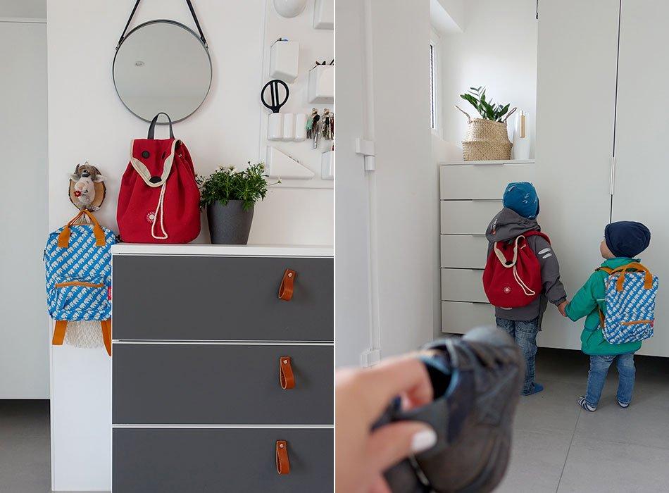 Eingang, Aufbewahrung, Flur, Kinder, Kleidung, Schuhe, Ordnung