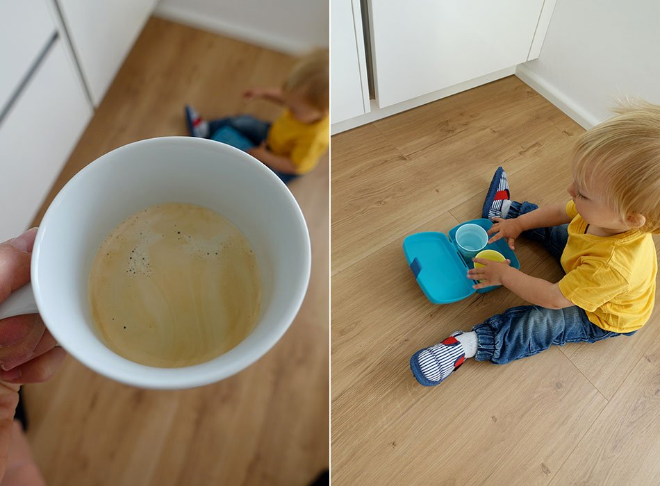 Mama, Alltag, Morgen, Kaffee, Kita, Frühstück, Routine