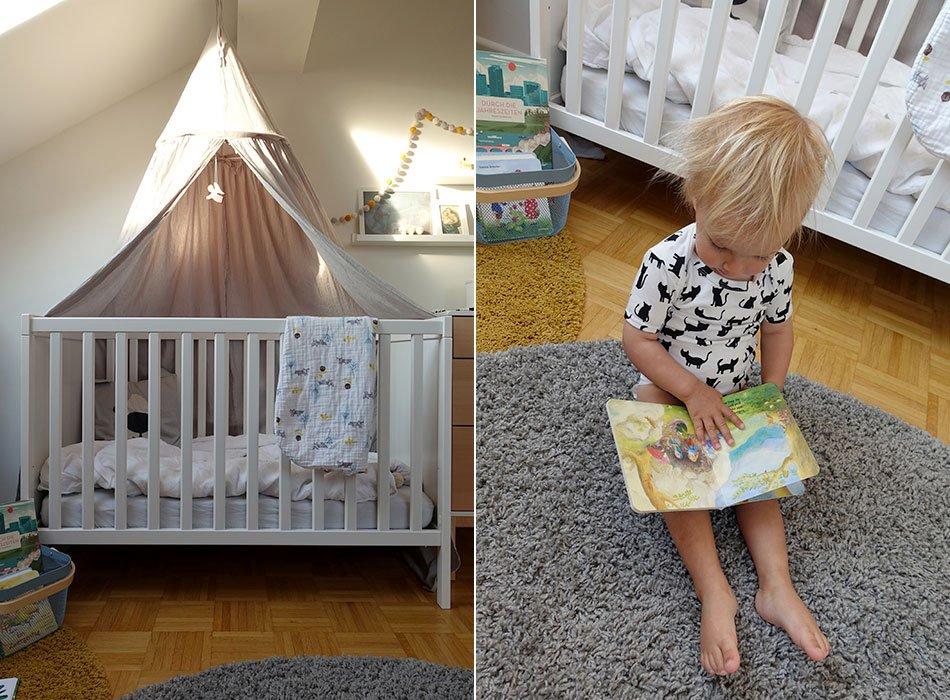 Kinderzimmer, Betthimmel, Einrichtung, Dach, hell, Junge