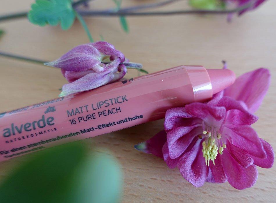 Lippen, Naturkosmetik, Neuheit, dm, alverde,2019, rose, peach, weich, Textur