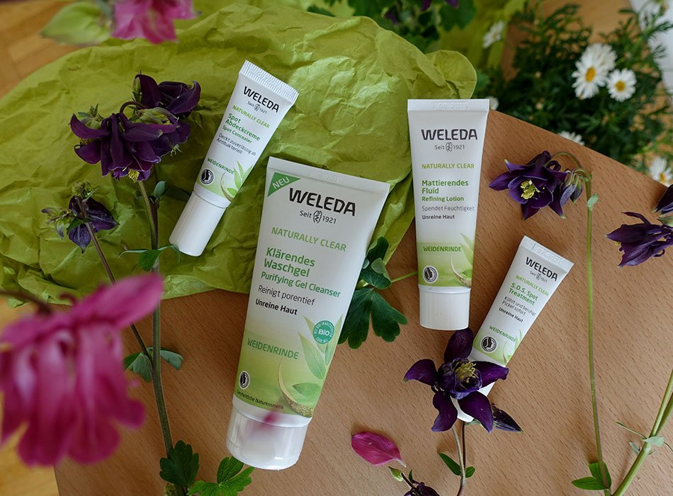Weleda, unreine Haut, SOS, Pickel, Test, Abdeckfluid