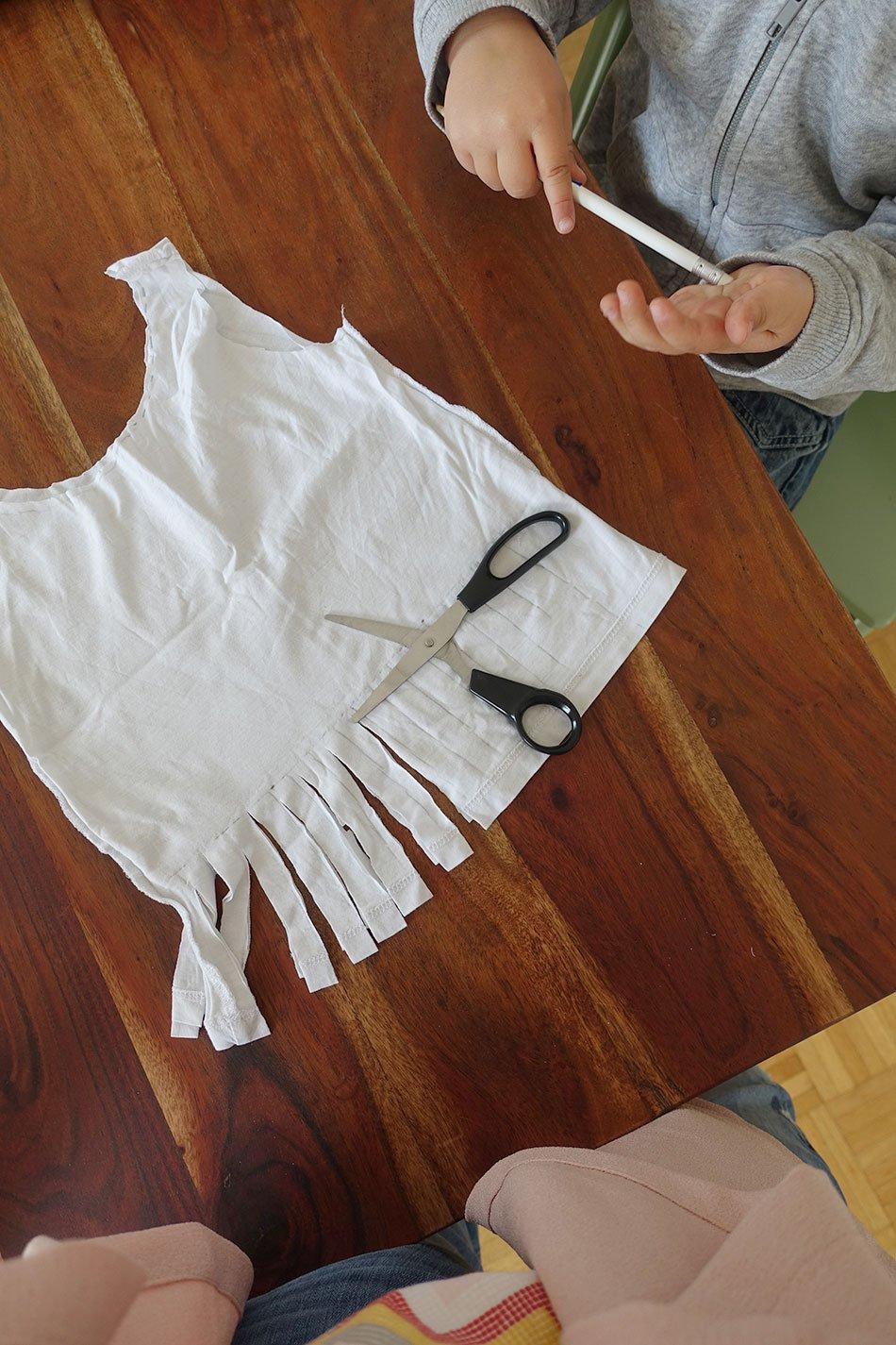 Guide, DIY; Children, craft, bag, knot, shopping net