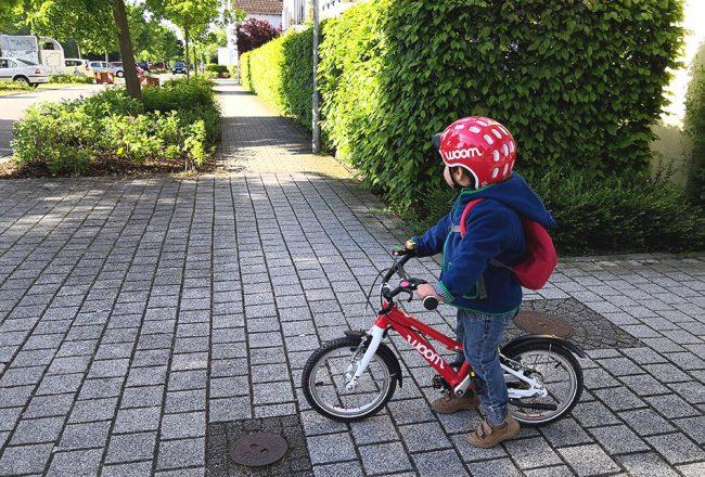 woom, Fahrrad, Kind, einfach, lernen, Tipps