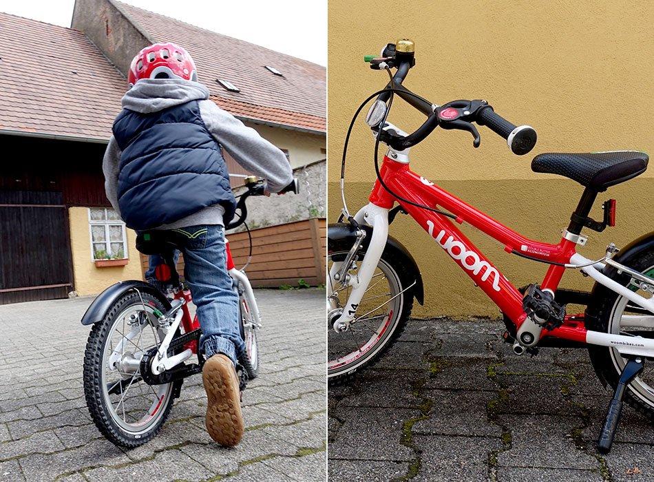Kinderfahrrad im Test, woom bike, Sicherheit, Kinder, Rad