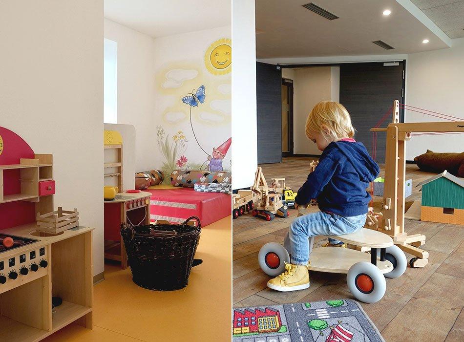 Indoor, Spielplatz, Familienhotel, Erfahrung, Kinderbetreuung, Allgäu, Bwerghof