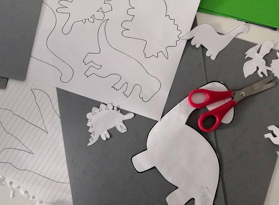 Dino, Deko, DIY, Basteln mit Kindern