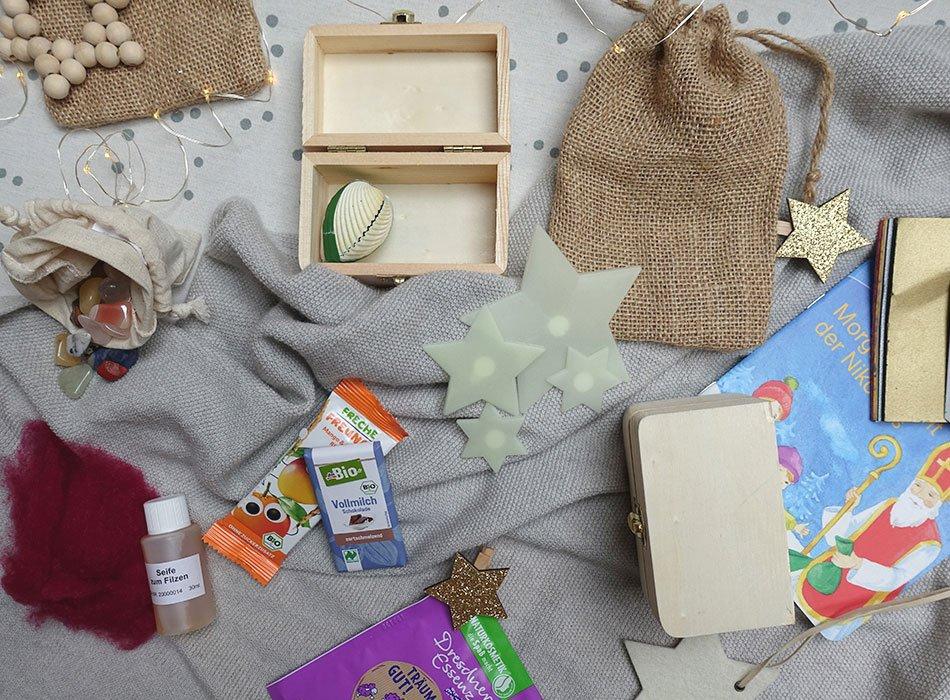 Adventskalender für Kinder füllen - 6 Ideen für 6-6 Jährige