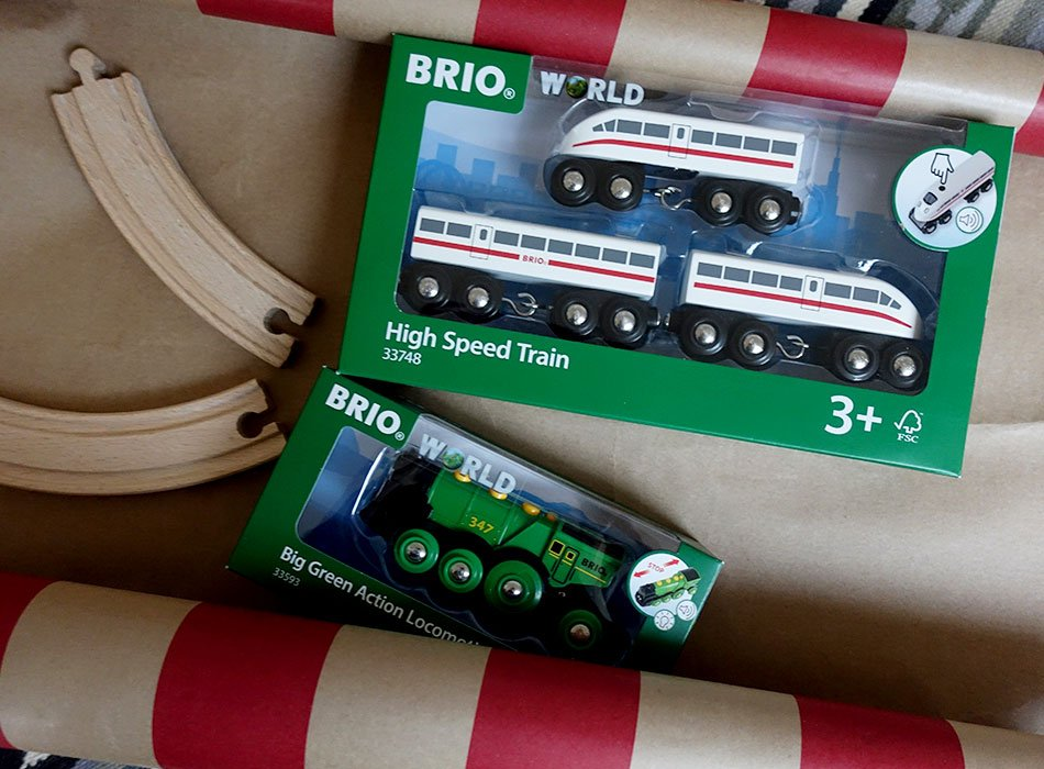 Brio mit Batterie