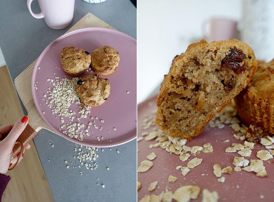 Zuckerfreie Muffins für Kinder