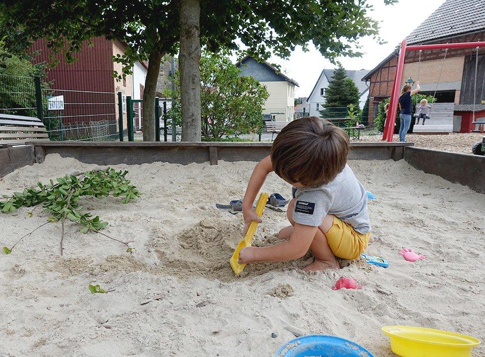 Großer Sandkasten