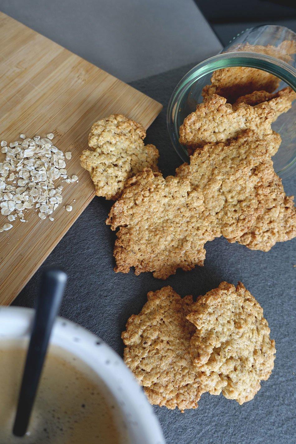 Kekse mit wenig Zucker
