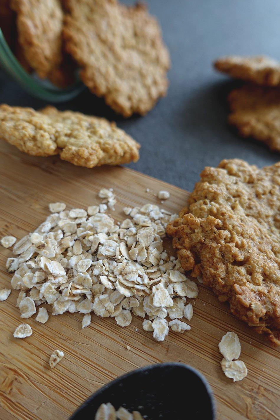 Hafer Cookies, vegan