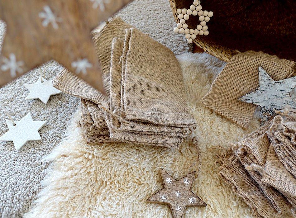 Säckchen für den Adventskalender