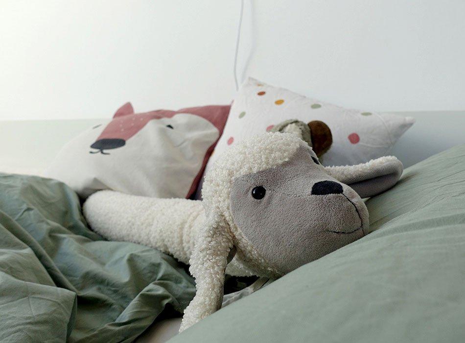 Gemütliches Bett für Kinder