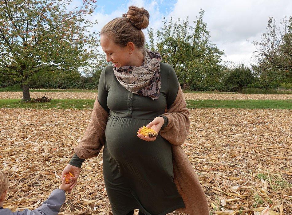Schwangerschafts Shooting im Herbst