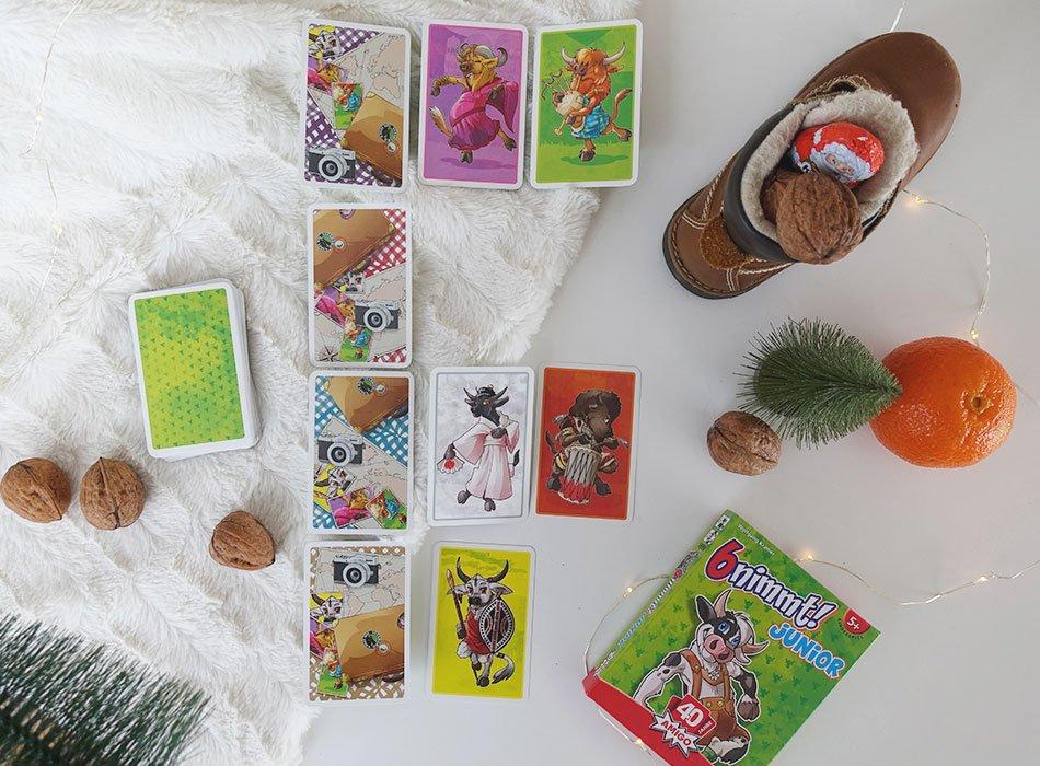 Sinnvolle Nikolaus Geschenke für Kinder: AMIGO nimm6 für Kinder