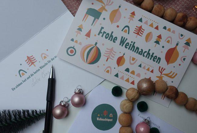 Karten zu Weihnachten gestalten