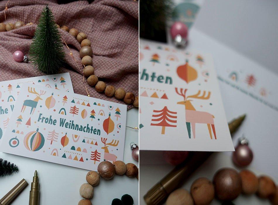 Tipps und Tricks: individuelle Weihnachtskarten ohne großen Aufwand