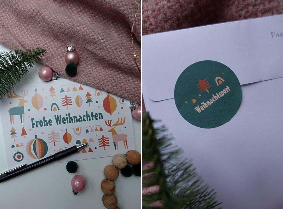 Weihnachtspost: individuell und einfach gestalten