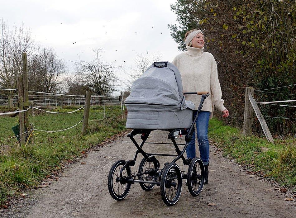 im Test: Vita Naturkind-Kinderwagen