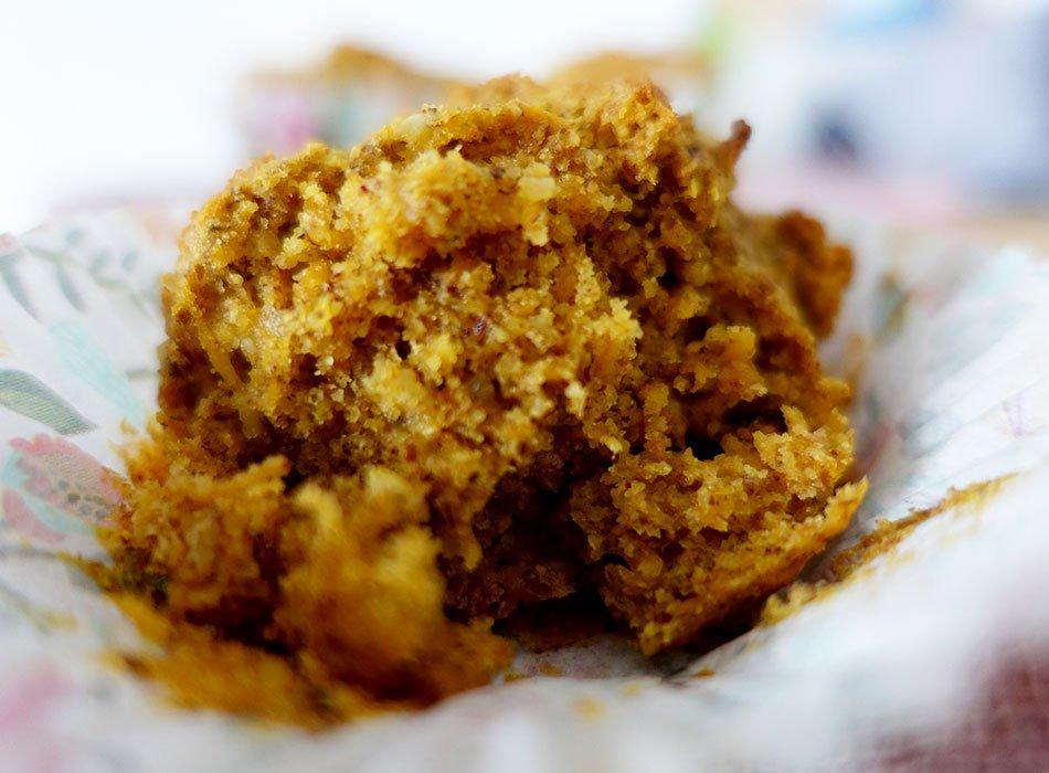 Vegane Karottenmuffins: zuckerfreies Rezept