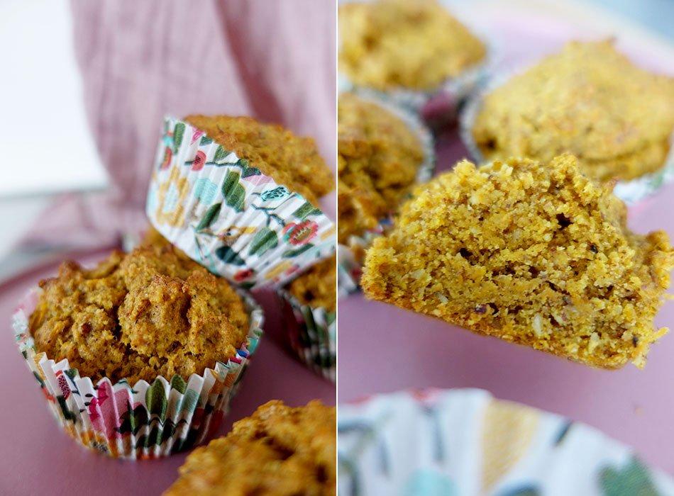 Oster backen vegan: Karottenmuffins mit Vanille