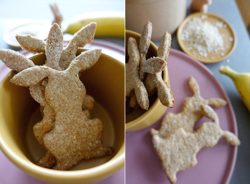 Kekse ohne Zucker für Babys
