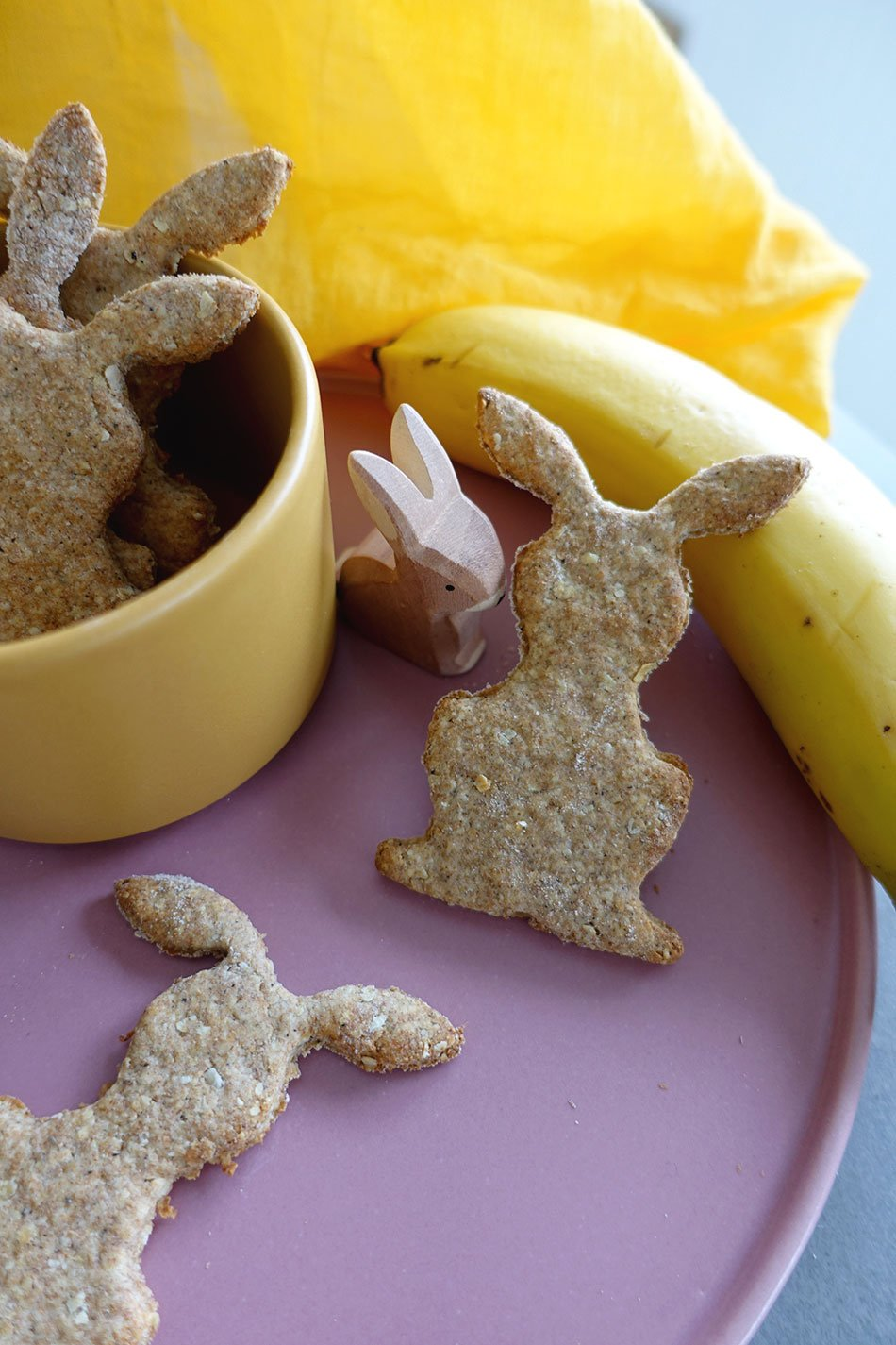 Backen für Ostern: zuckerfreie Kekse