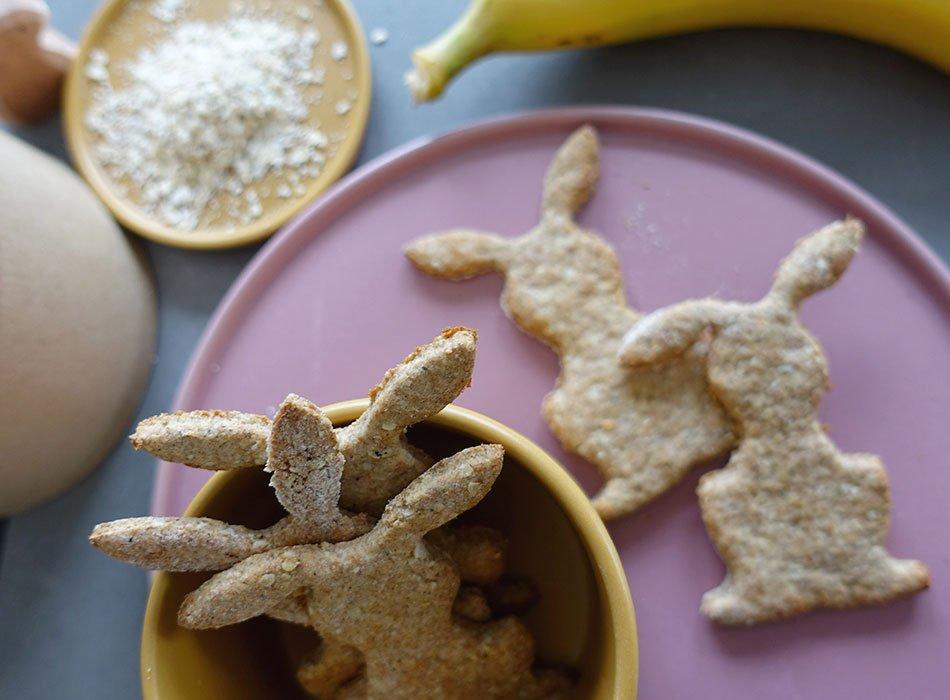 zuckerfreie Osterkekse für Kleinkinder